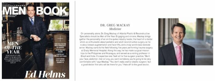 Dr. Greg Mackay feature in Men Book