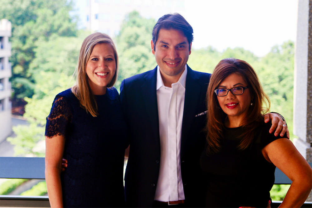 Dr. Ghazi, Emily and Lin